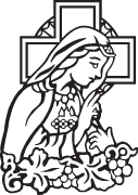 Clipart Image For Gravemarker Monument mary 06
