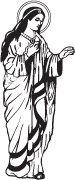 Clipart Image For Gravemarker Monument mary 07