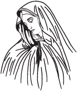 Clipart Image For Gravemarker Monument mary 11