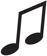 Clipart Image For Gravemarker Monument music 22