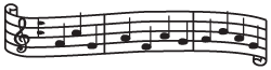 Clipart Image For Gravemarker Monument music 25