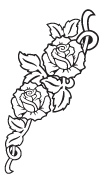 Clipart Image For Gravemarker Monument rose 30
