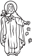 Clipart Image For Gravemarker Monument saints 04