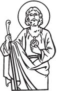 Clipart Image For Gravemarker Monument saints 07