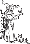 Clipart Image For Gravemarker Monument saints 08