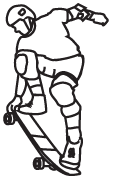 Clipart Image For Gravemarker Monument sports 17