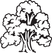 Clipart Image For Gravemarker Monument tree 02