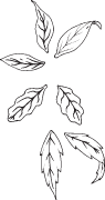 Clipart Image For Gravemarker Monument tree 03