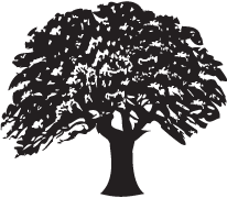 Clipart Image For Gravemarker Monument tree 05