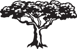 Clipart Image For Gravemarker Monument tree 12